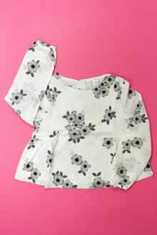 vêtements occasion enfants Blouse fleurie Okaïdi 5 ans Okaïdi
