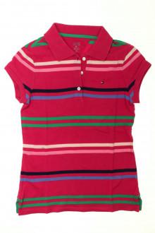 vêtements d occasion enfants Polo rayé manches courtes - 14 ans Tommy Hilfiger 12 ans Tommy Hilfiger