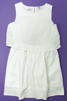 vêtements occasion enfants Robe en broderie anglaise Okaïdi 10 ans Okaïdi