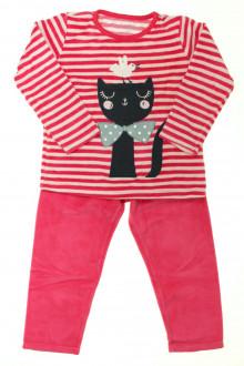 vetement d occasion enfant Pyjama en velours
