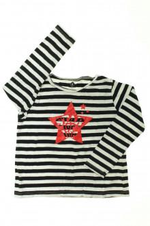 vetement occasion enfants Tee-shirt manches longues rayé Z 5 ans Z