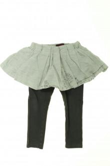 vetements enfants d occasion Jupe avec legging intégré Catimini 3 ans Catimini