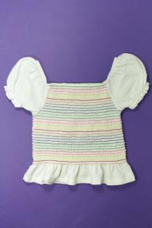 vêtements occasion enfants Top rayé Zara 10 ans Zara