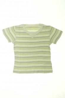 vêtements d occasion enfants Tee-shirt rayé manches courtes Vertbaudet 6 ans Vertbaudet