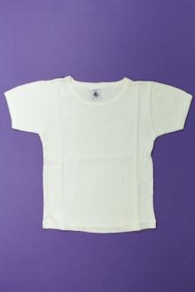 vêtements enfants occasion Tee-shirt manches courtes Petit Bateau 4 ans Petit Bateau
