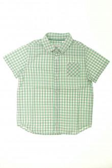 vêtements occasion enfants Chemisette à carreaux Okaïdi 6 ans Okaïdi