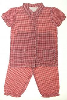 vêtements occasion enfants Pyjama léger Vichy CFK 8 ans CFK