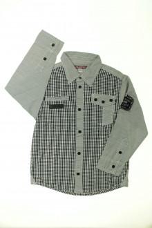 vetements enfants d occasion Chemise à petits carreaux Ooxoo 5 ans Ooxoo