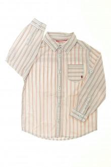 vêtements occasion enfants Chemise rayée Okaïdi 3 ans Okaïdi