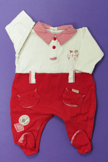 vetement bébé d occasion Pyjama/Dors-bien en coton Berlingot Naissance Berlingot