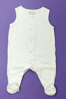 vetement bébé d occasion Pyjama/Dors-bien sans manches Natalys 3 mois Natalys