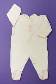 vêtements bébés Pyjama/Dors-bien en velours milleraies Petit Bateau 6 mois Petit Bateau