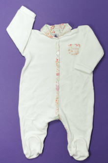 Habits pour bébé Pyjama/Dors-bien en velours Petit Bateau 6 mois Petit Bateau