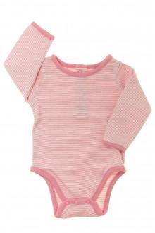 vetements d occasion bébé Body manches longues milleraies DPAM 1 mois DPAM