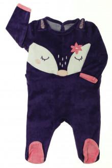 habits bébé occasion Pyjama/Dors-bien en velours