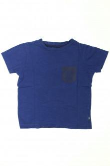 vetement marque occasion Tee-shirt manches courtes Okaïdi 4 ans Okaïdi