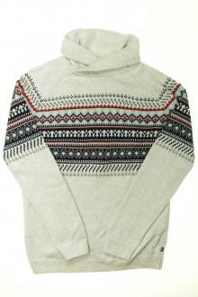 vêtements enfants occasion Pull jacquard Okaïdi 12 ans Okaïdi