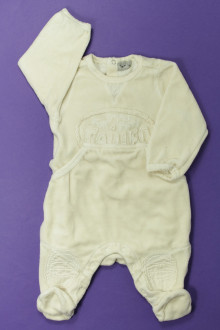 Habits pour bébé occasion Pyjama/Dors-bien en velours Taille 0 3 mois Taille 0