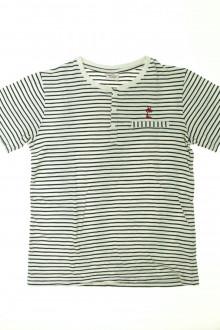 vêtements d occasion enfants Tee-shirt rayé manches courtes Tape à l'Œil 12 ans Tape à l'œil