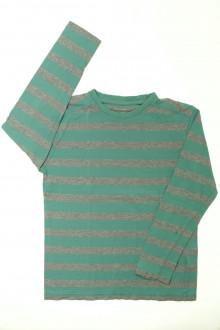 vetements enfants d occasion Tee-shirt rayé manches longues Vertbaudet 10 ans Vertbaudet