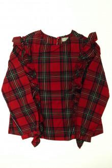 vetements enfant occasion Blouse écossaise Zara 10 ans Zara