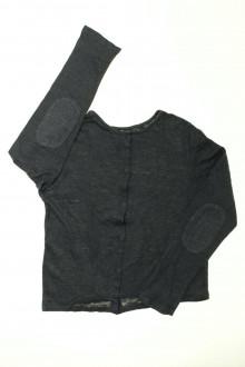 vetement d occasion enfant Tee-shirt à pressions en lin Petit Bateau 10 ans Petit Bateau