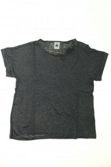 vetement d'occasion Tee-shirt manches courtes en lin Petit Bateau 10 ans Petit Bateau