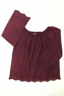 vêtements occasion enfants Blouse en broderie anglaise Monoprix 10 ans Monoprix