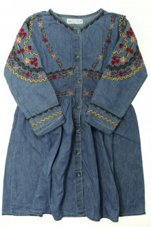 vetement occasion enfants Robe en jean brodée Zara 9 ans Zara