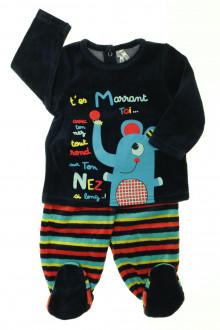 habits bébé Pyjama en velours