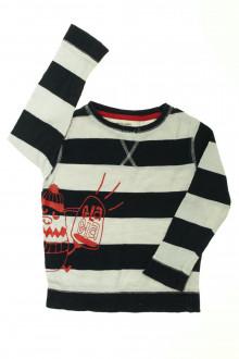 vêtements d occasion enfants Tee-shirt manches longues à rayures Vertbaudet 4 ans Vertbaudet