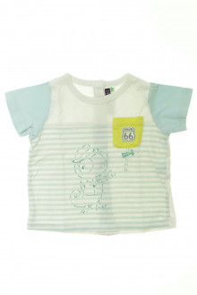 Habit d'occasion pour bébé Tee-shirt manches courtes Sergent Major 6 mois Sergent Major