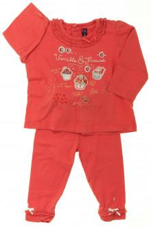 vetement bébé d occasion Ensemble tee-shirt et legging Sergent Major 6 mois Sergent Major