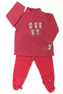 habits bébé Ensemble sous-pull et legging Sergent Major 12 mois Sergent Major
