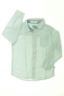 vetement enfant occasion Chemise à petits carreaux Okaïdi 4 ans Okaïdi