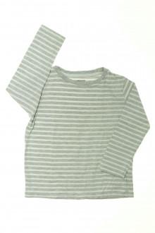 vetements enfants d occasion Tee-shirt rayé manches longues Vertbaudet 4 ans Vertbaudet
