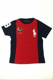 vetement occasion enfants Tee-shirt manches courtes Ralph Lauren 5 ans Ralph Lauren