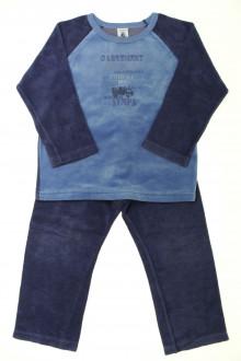 vêtements occasion enfants Pyjama bi-matière