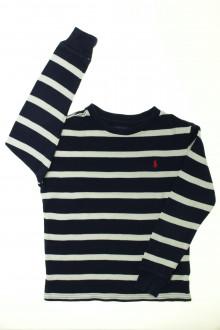 vêtements d occasion enfants Tee-shirt manches longues rayé Ralph Lauren 7 ans Ralph Lauren