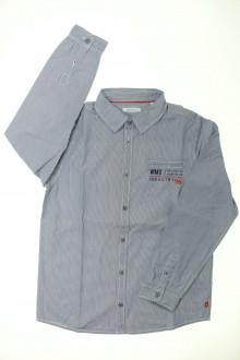vetements enfant occasion Chemise à fines rayures Okaïdi 10 ans Okaïdi