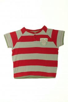 vetement occasion enfants Tee-shirt manches courtes à rayures Vertbaudet 4 ans Vertbaudet
