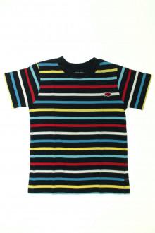 vetement occasion enfants Tee-shirt rayé manches courtes Week-end à la mer 6 ans Week-end à la mer