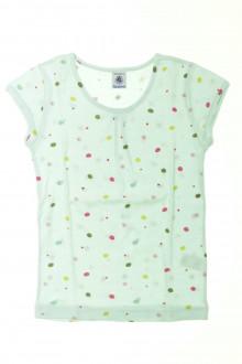vêtements d occasion enfants Tee-shirt manches courtes à pois Petit Bateau 10 ans Petit Bateau