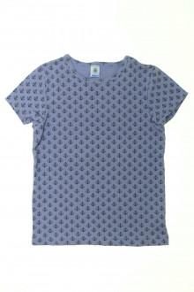 vetement d occasion enfant Tee-shirt manches courtes Petit Bateau 10 ans Petit Bateau