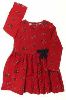 vêtements d occasion enfants Robe manches longues fleurie Petit Bateau 5 ans Petit Bateau