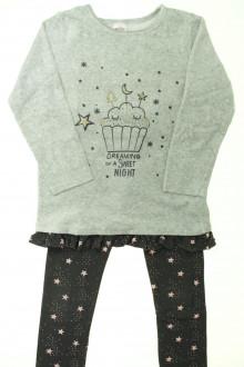 vetements enfants d occasion Pyjama bi-matière