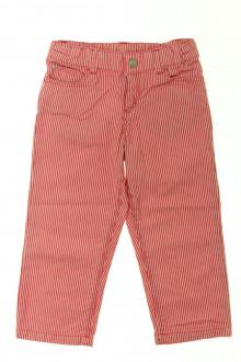 vêtements occasion enfants Pantalon rayé Petit Bateau 2 ans Petit Bateau