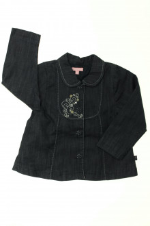 Habits pour bébé Veste en jean brodée Escada 18 mois  Escada