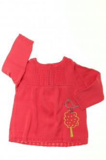 vêtements bébés Pull ajouré DPAM 12 mois DPAM