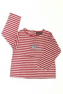 habits bébé occasion Tee-shirt rayé manches longues Tout Compte Fait 18 mois Tout Compte Fait